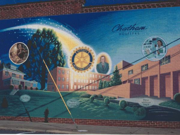 Chatham Hospital Mural
