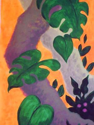 Gecko Vines, detail