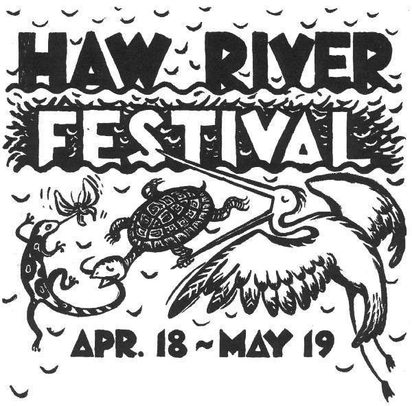 Haw River Festival flyer