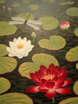 Lotus Mural