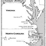 Hudson's Journey Map