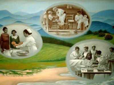 Nursing History Mural