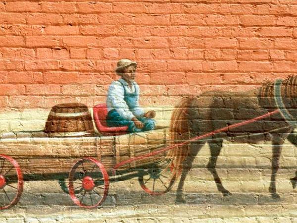 Farmer's Alliance Mural, detail