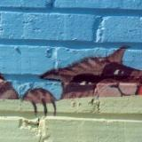 Save the Haw Mural, detail