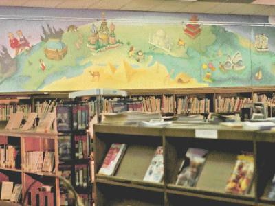 Wren Library Children's Mural