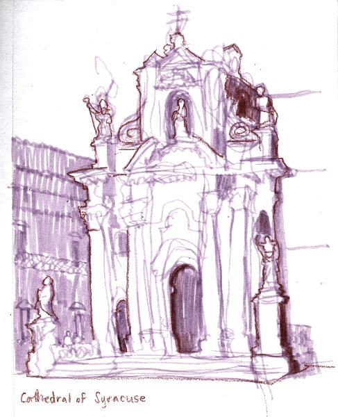 Cathedral, Siracusa, Italy