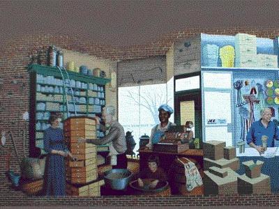 Hardware Store Mural