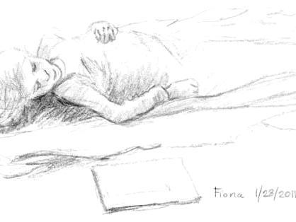 Fiona at Naptime