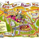 Shakori Hills Road Map