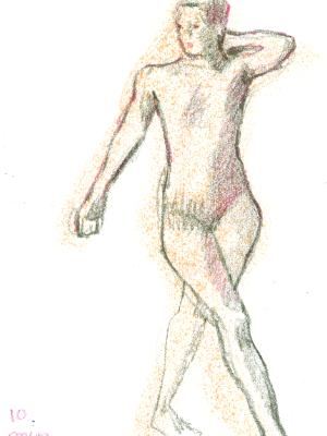 NEW! On-line class: Figure Drawing Open Studio