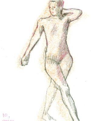 NEW! On-line class: Figure Drawing Open Studio