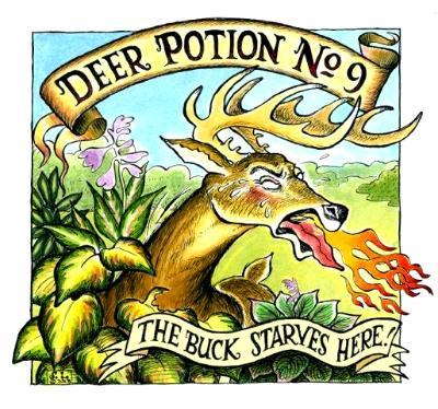 Label for Deer Repellent