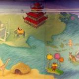 Wren Library Children's Mural Panorama